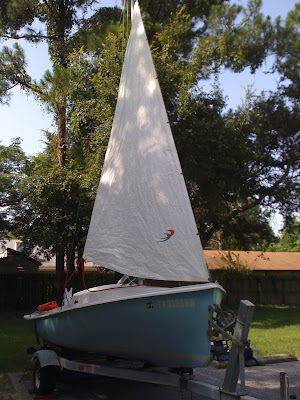 Small Boat Restoration: O'Day Day Sailer II CYANE on