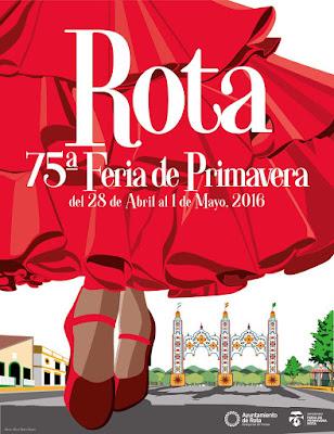 Feria de Primavera de Rota 2016 - Mario Muñoz