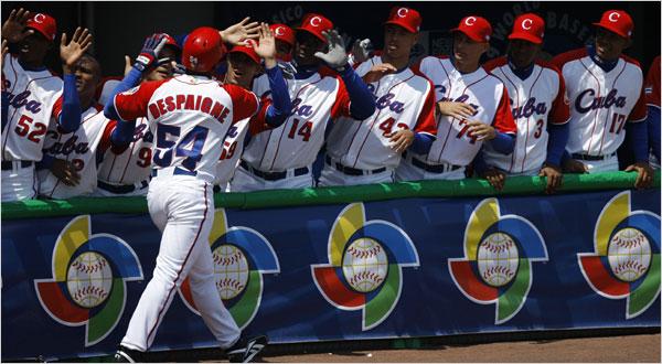El Rankings de Poder del Clásico Mundial de Béisbol 2017 asume un poderío cubano cuando menos quimérico