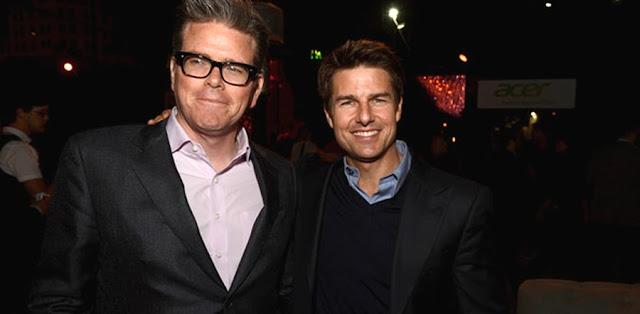 McQuarrie si Tom Cruise la Paramount Studios