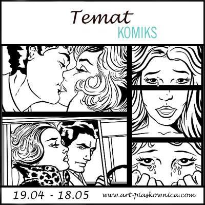 TEMAT - KOMIKS - edycja sponsorowana