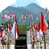 1000 Merah Putih Berkibar Di Embung Tirtomulyo. Menuju Desa Wisata Alam Tegalmulyo Di Lereng Merapi