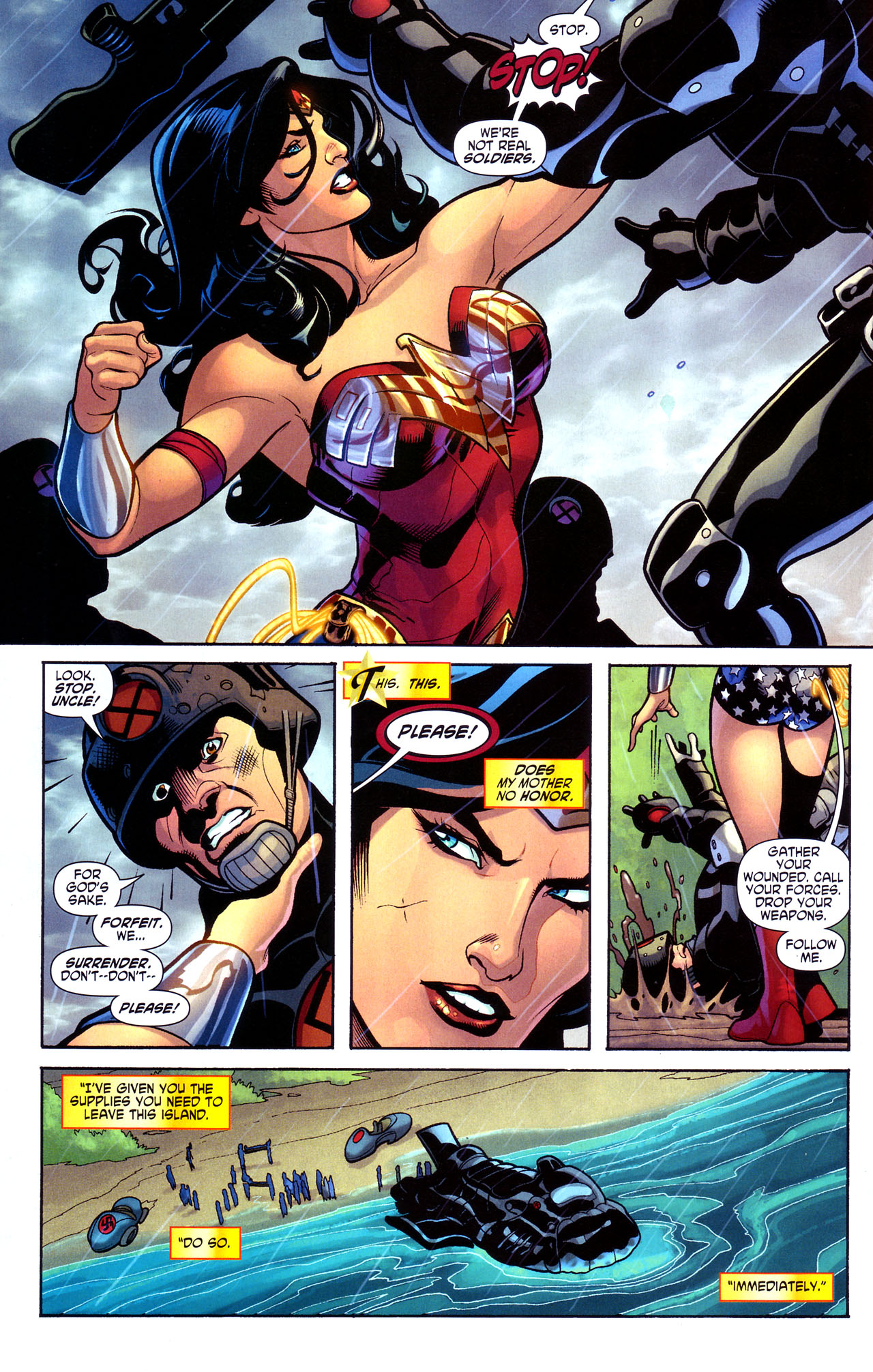 Read online Wonder Woman (2006) comic -  Issue #17 - 11