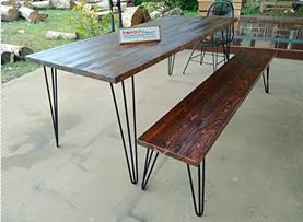 contoh meja cafe minimalis