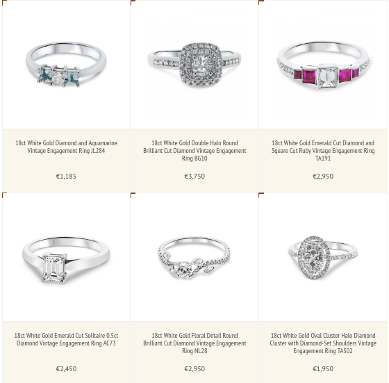 Marcasite Wedding Bands 27 Unique Selection of Engagement Rings