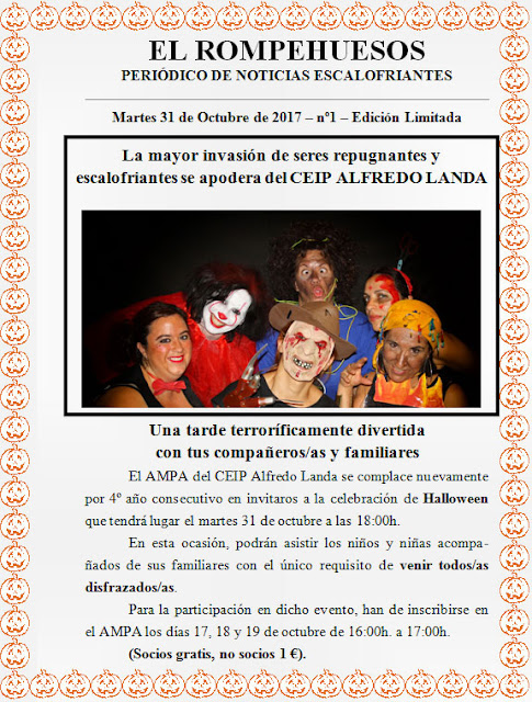 Halloween - AMPA CEIP Alfredo Landa