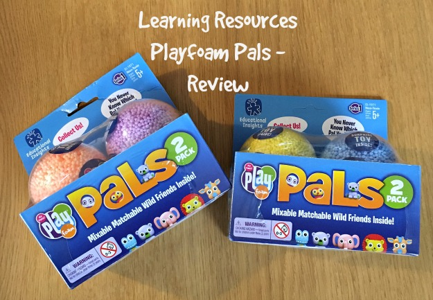 Learning-Resources-Playfoam-pals-review-text-over-image-of-two-boxes