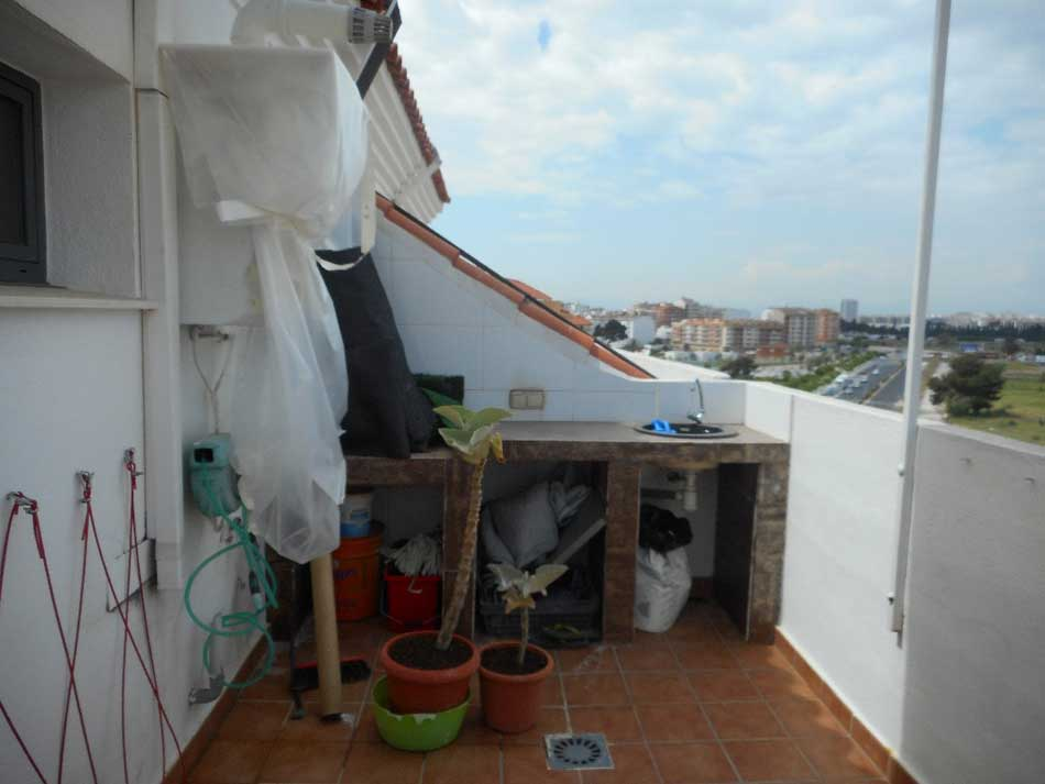duplex en venta castellon calle huesca terraza