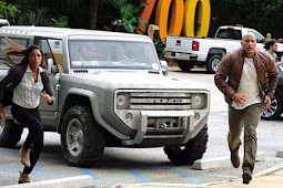 Ford Bronco in Rampage