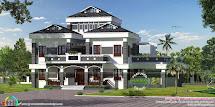 Luxury Modern Roof Home In 3390 Sq-ft - Kerala Design