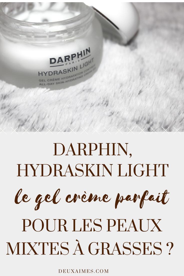 J'ai terminé ma crème de jour Hydraskin Light de Darphin : Mon avis sur le blog ! #Skincare  @DEUXAIMES