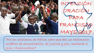 Intención misionera, Papa Francisco