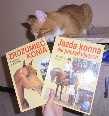 poradniki jeździeckie konie wymiana książek