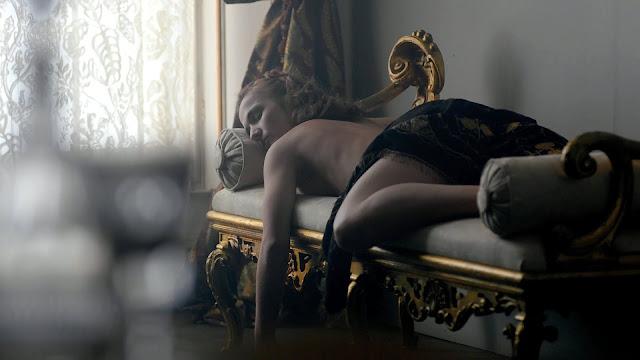 Plots – Poppy Corby-Tuech & Jessica Brown Findlay in Harlots, Cherie Ditcham in The Dark