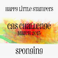 Happy Little Stampers Sponging