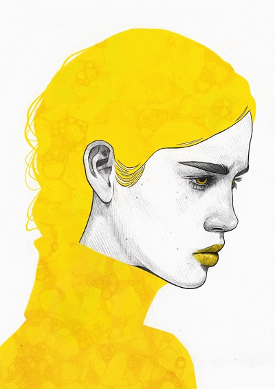 """Yellow III"" - Tomasz Mrozkiewicz 