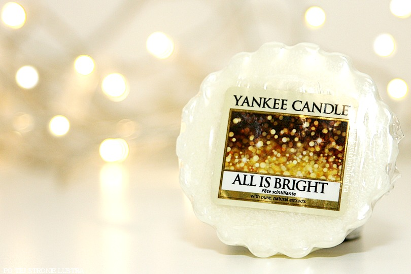 wosk zapachowy yankee candle all is bright