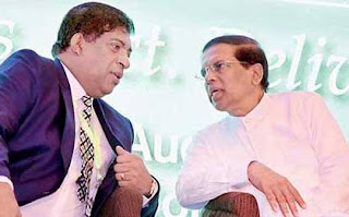 President Maithripala Sirisena and ravi
