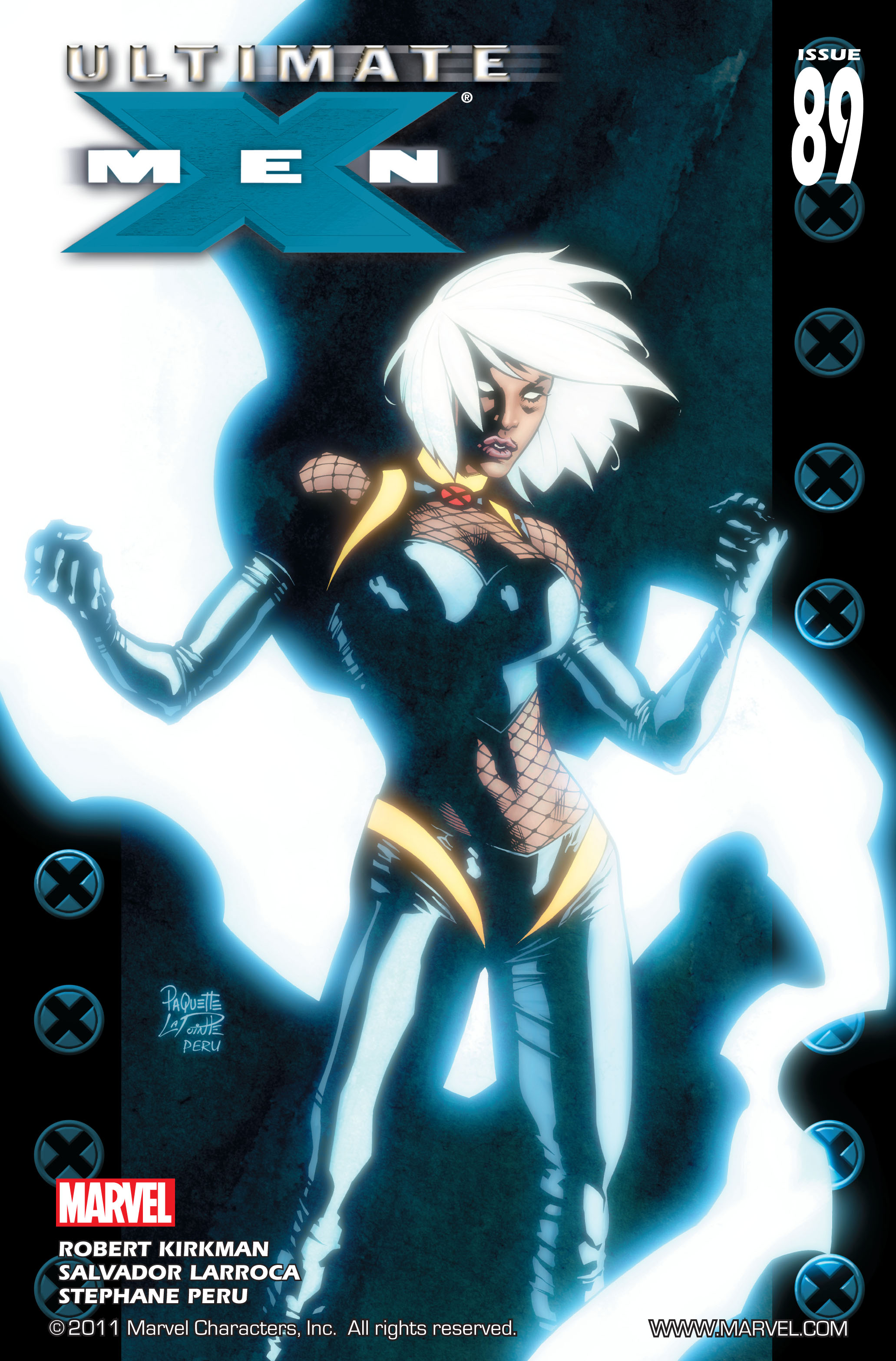 Read online Ultimate X-Men comic -  Issue #89 - 1
