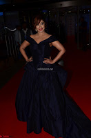 Payal Ghosh aka Harika in Dark Blue Deep Neck Sleeveless Gown at 64th Jio Filmfare Awards South 2017 ~  Exclusive 007.JPG