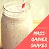 Homemade Mass Gainer Shakes