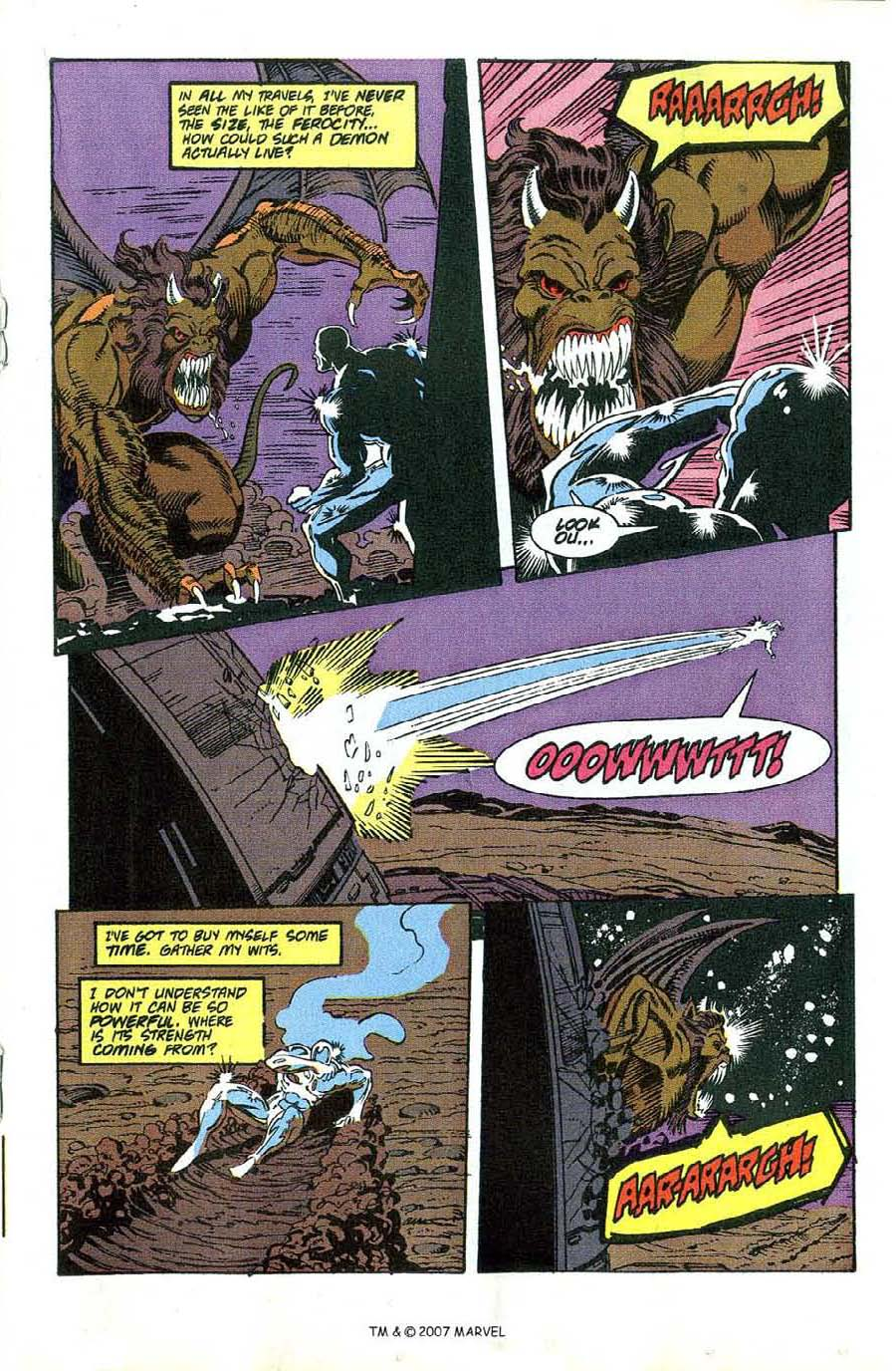 Read online Silver Surfer (1987) comic -  Issue #49 - 19