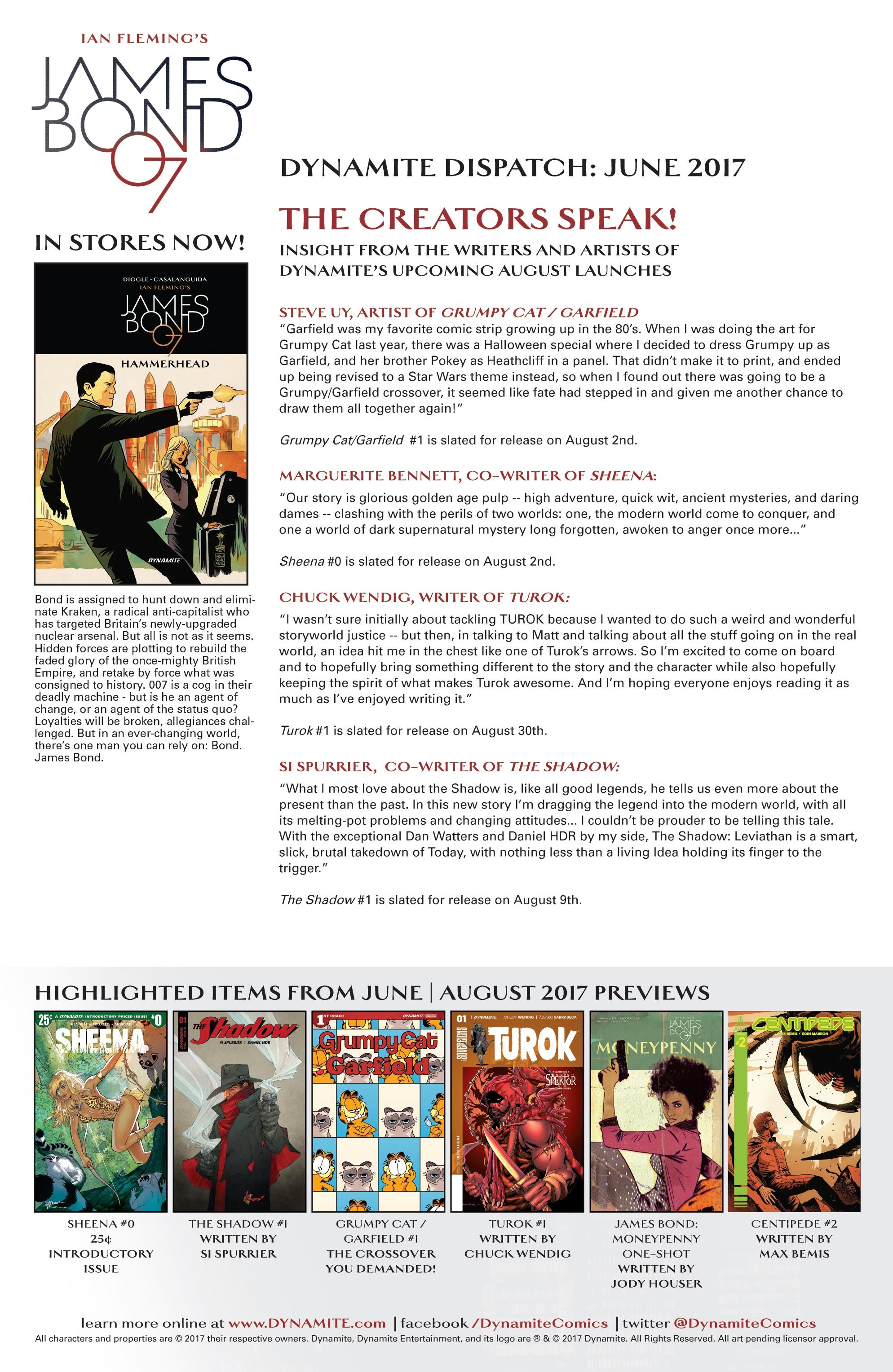 Read online James Bond: Felix Leiter comic -  Issue #6 - 23