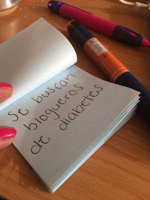 Se buscan blogueros sobre diabetes. Espera, tal vez no quieras ser bloguero.