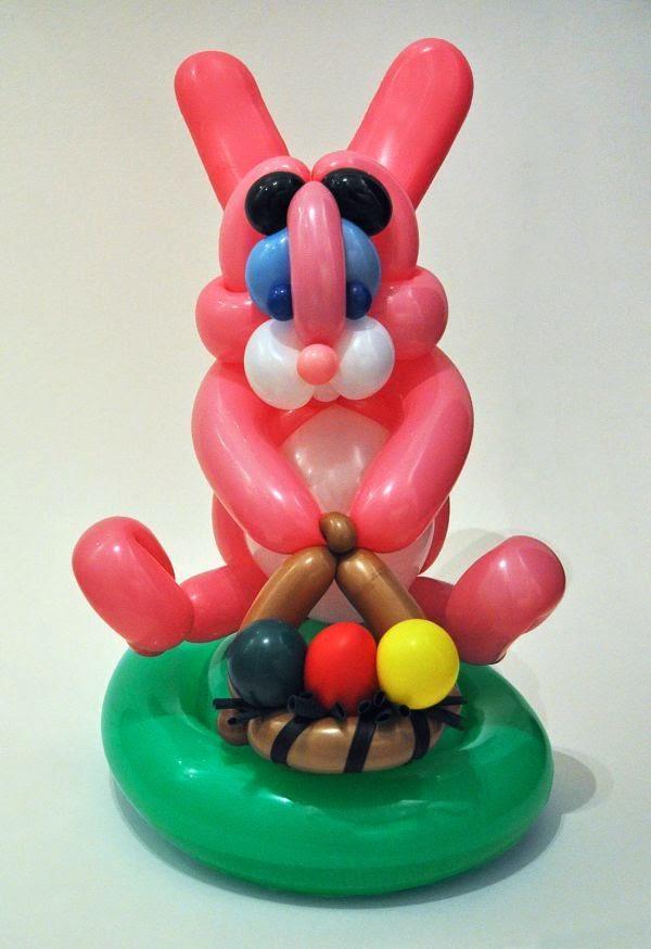 Arte y creatividad con globos