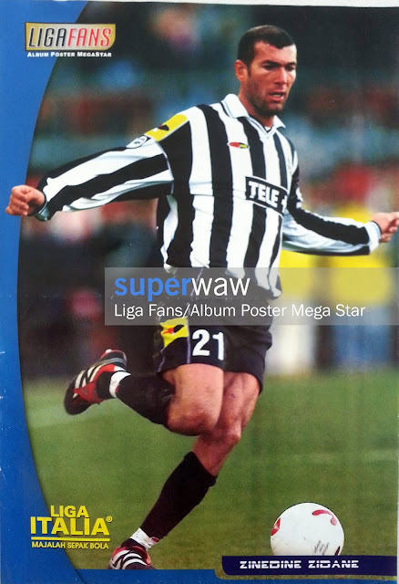 Poster Zinedine Zidane (Juventus)