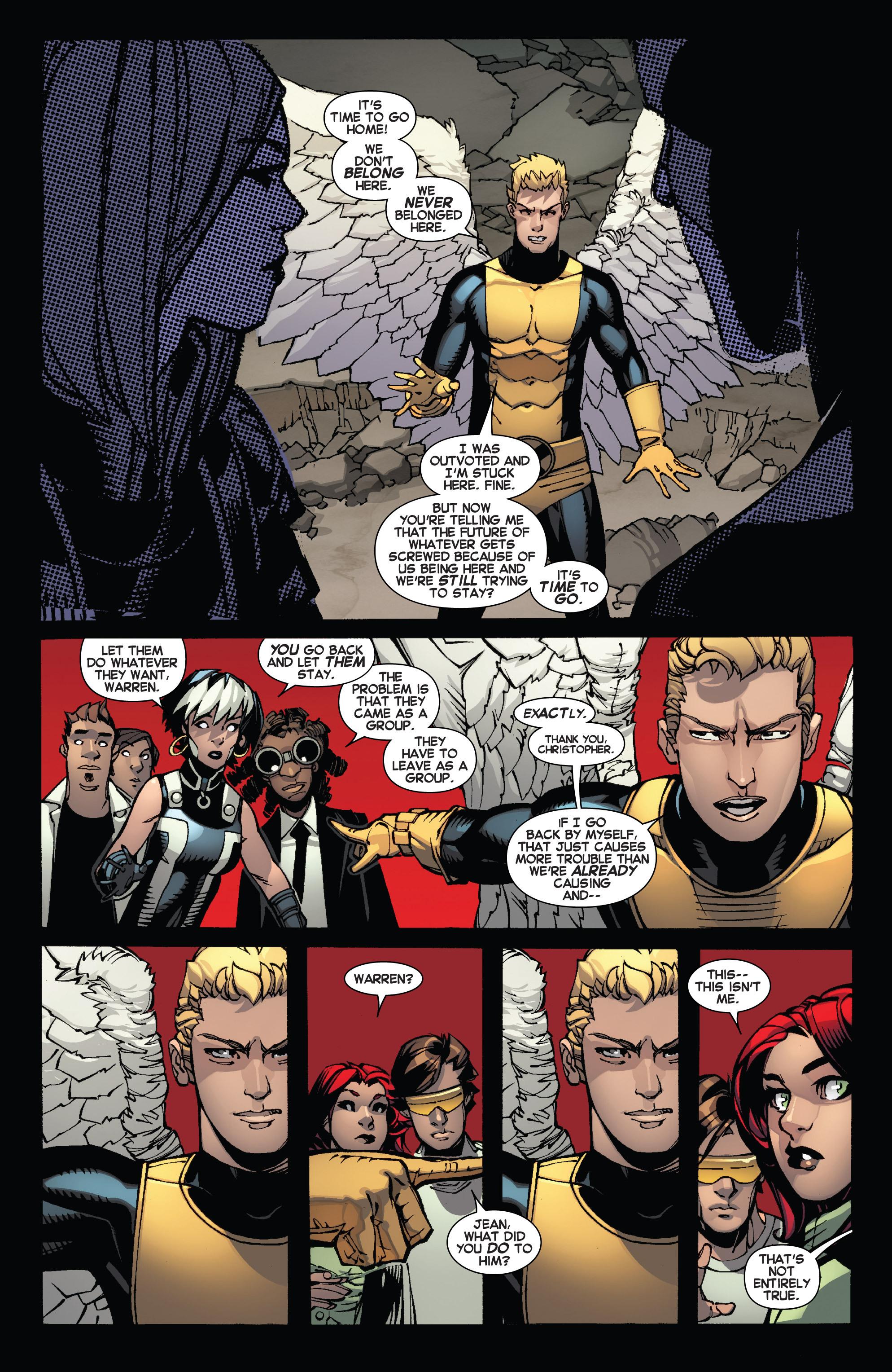 Read online Uncanny X-Men (2013) comic -  Issue #12 - 13