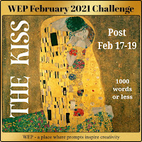 FIRST WEP CHALLENGE FOR FEBRUARY  2021! - OUR CHALLENGE - THE KISS