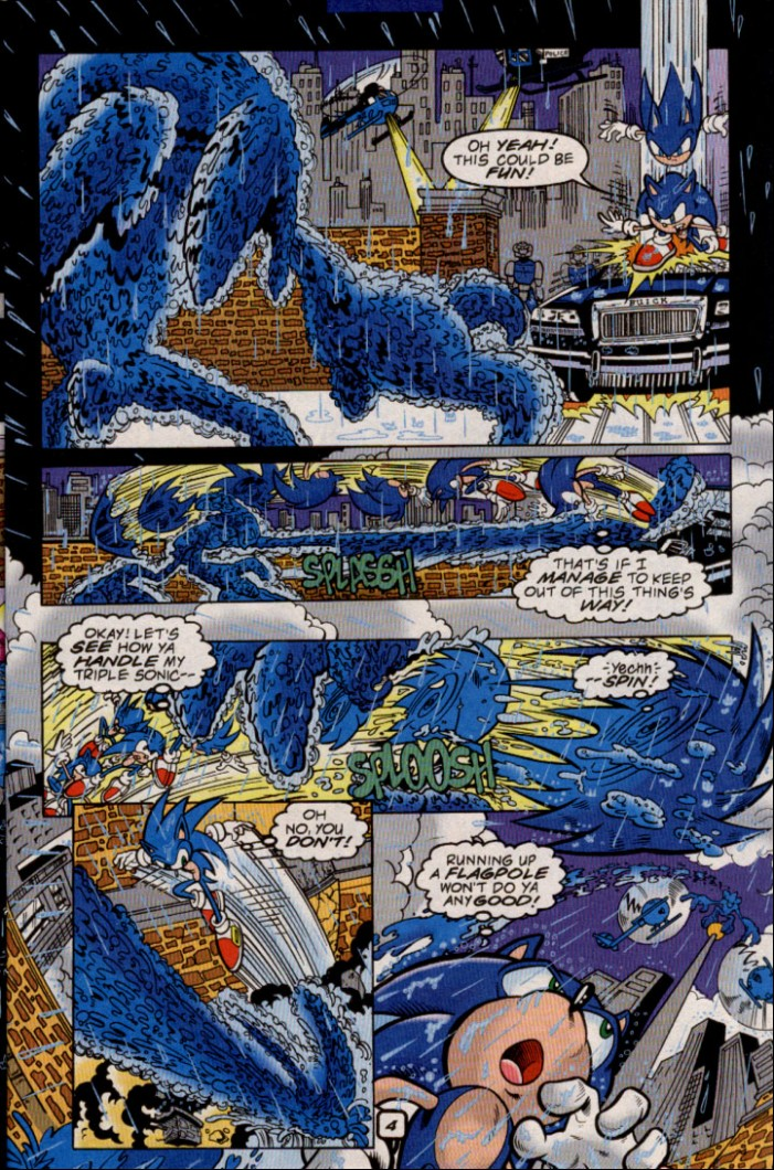 Read online Sonic The Hedgehog comic -  Issue #82 - 6