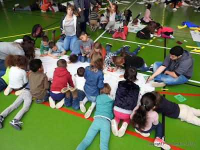 GRAND-QUEVILLY. Plusieurs centaines d'enfants du centre de loisirs ont dessiné leurs rêves.