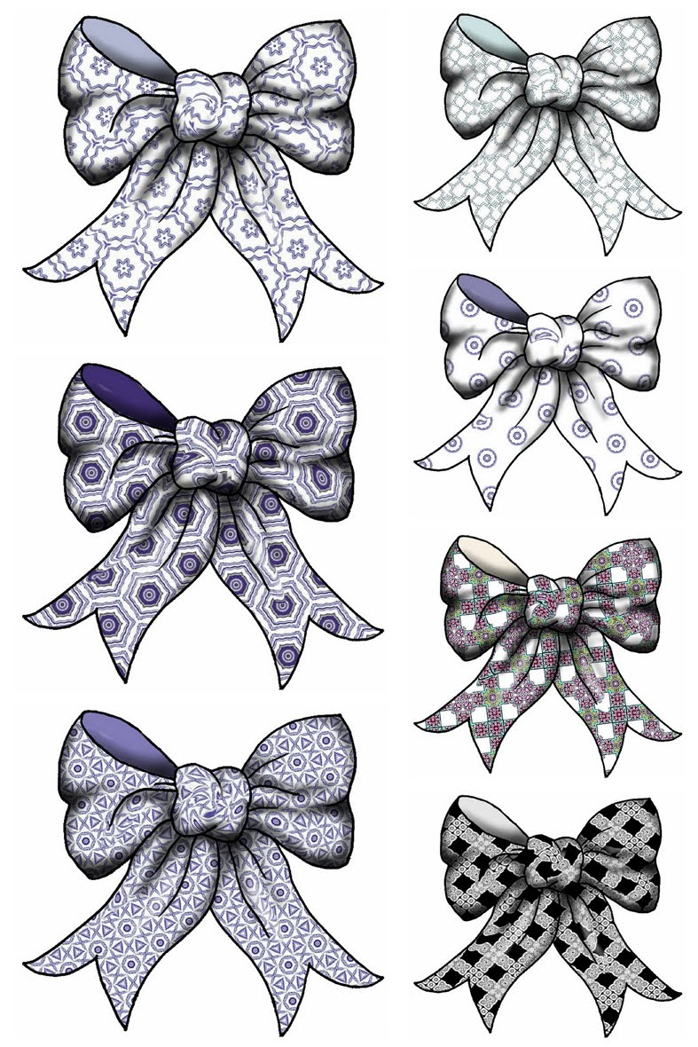 lace bow clipart - photo #1