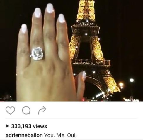 Israel Houghton & Adrienne Bailon are engaged..check out the bling!