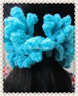 crochet scrunchy