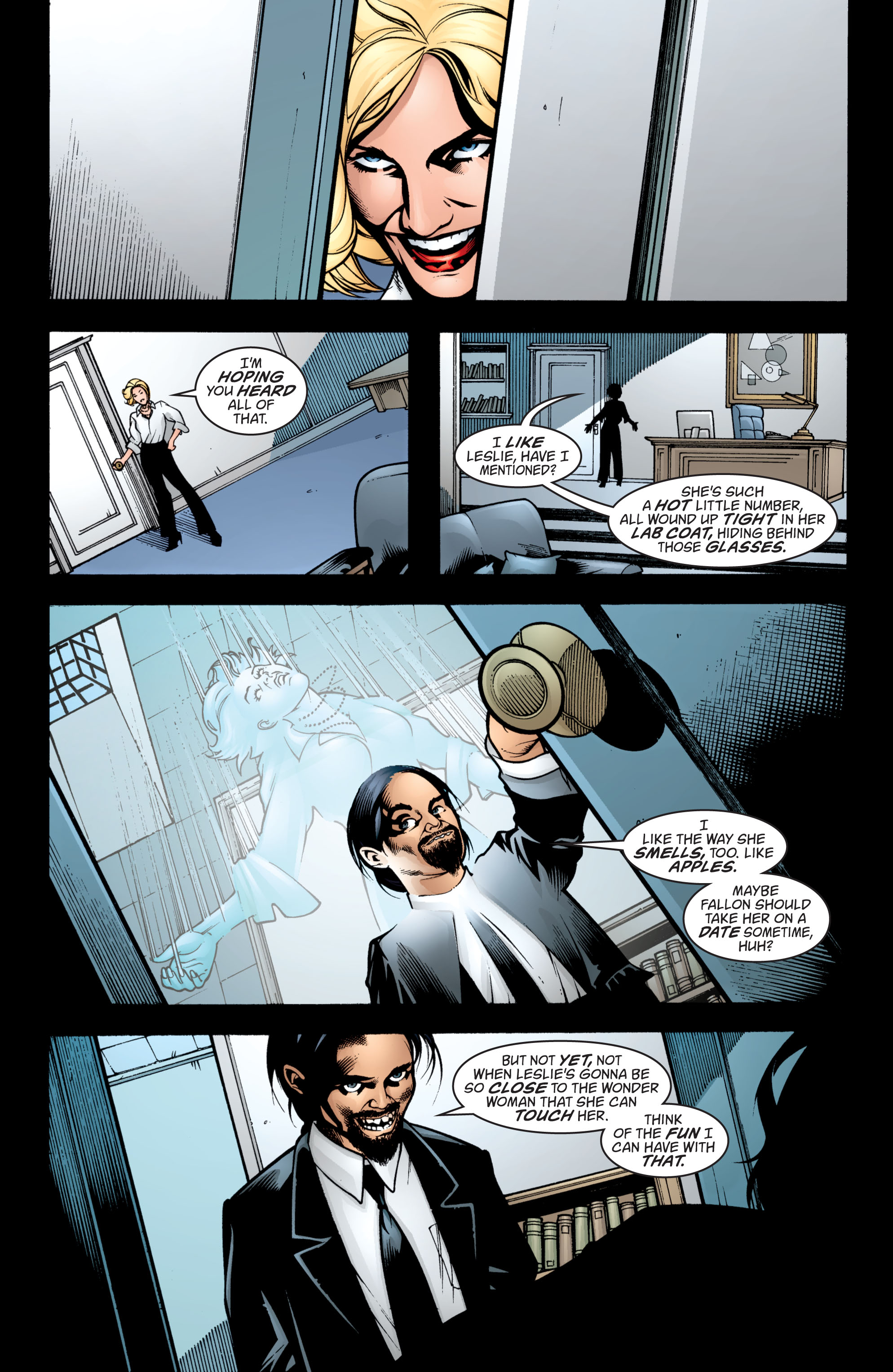 Read online Wonder Woman (1987) comic -  Issue #204 - 22