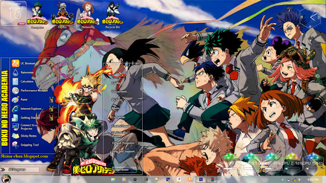 Boku no Hero Academia Theme Win 7 by Enji Riz Lazuardi