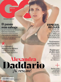 Alexandra Daddario in Lingerie Bra Panties for GQ Magazine April 2017 Unseen Must see WOW