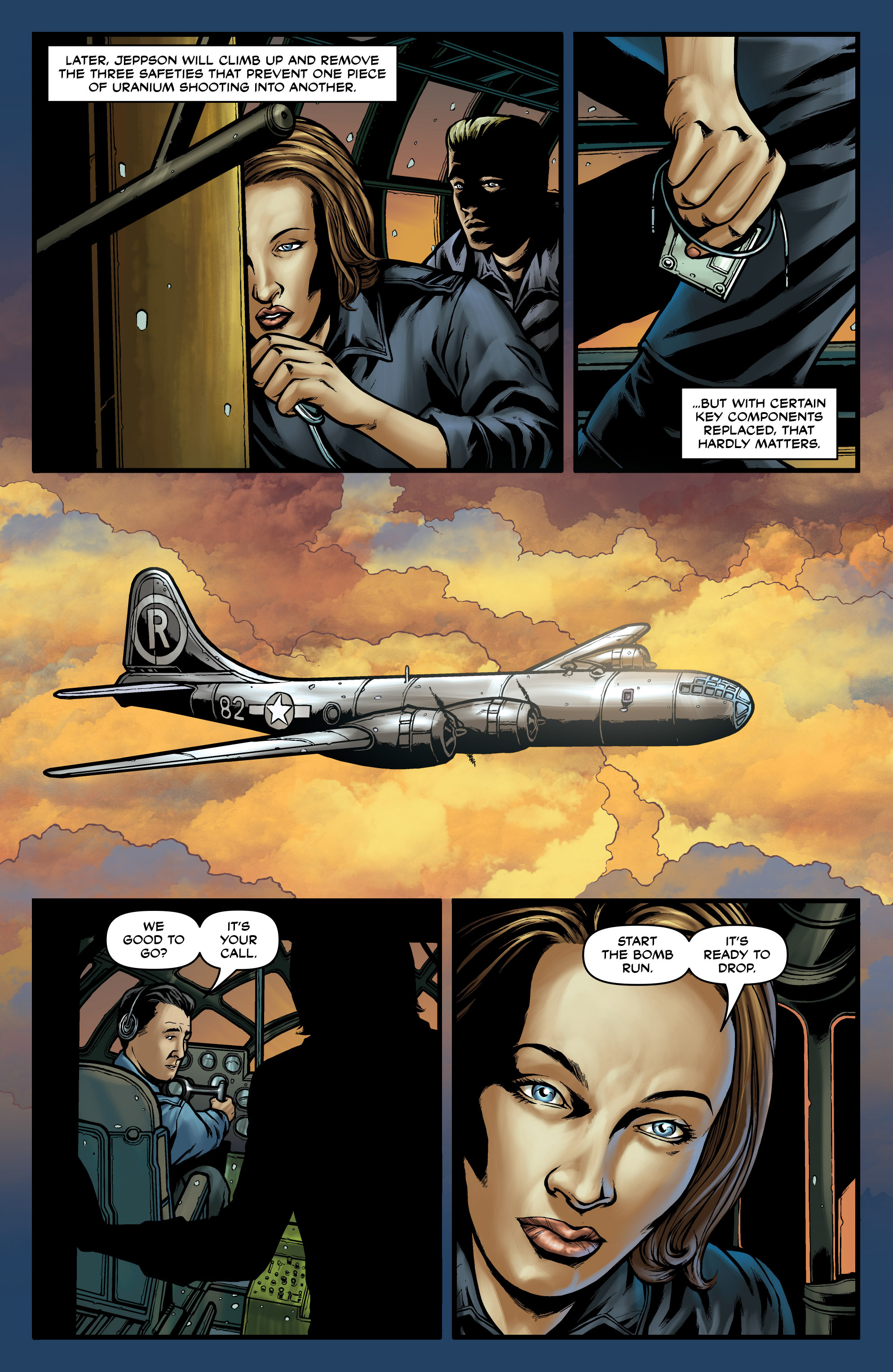 Read online Uber comic -  Issue #18 - 19
