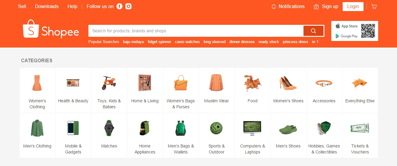 Shopee Pilihan Menarik Untuk Membeli-Belah