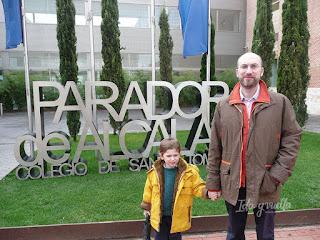 Parador de Alcalá de Henares entrada