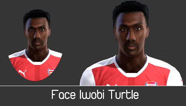 PES 2013 Iwobi Face by Turtle