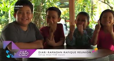 Drama Diari Ramadan Rafique Reunion pelakon