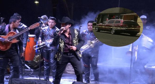 """Fotografía; Así quedo la camioneta de """"El Príncipe de El Corrido"""" tras recibir 10 balazos"""