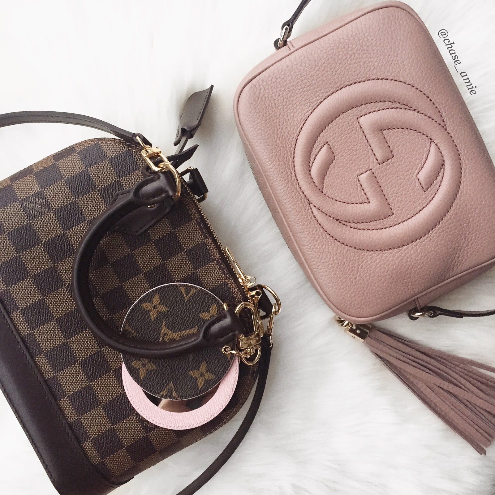 e5e100ba469 Gucci Soho Disco in Pink just restocked!! - Chase Amie