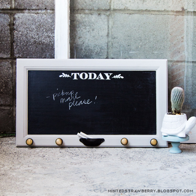 key rack chalkboard cabinet door