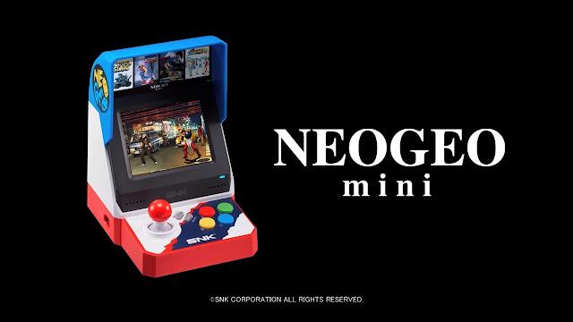 عودة إلى الماضي الجميل من خلال جهاز Neo-Geo Mini ، لنشاهد العرض الرسمي من هنا ..
