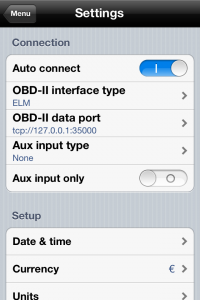 Connect your iPhone to your car (OBD II - Bluetooth) - Iphone Apps